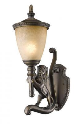 цена на Уличный настенный светильник Favourite Guards 1337-1WL