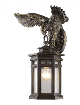 Уличный настенный светильник Favourite Guards 1458-1W favourite уличный светильник favourite london 1808 1f