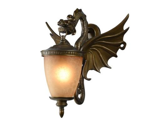 Уличный настенный светильник Favourite Dragon 1717-1W favourite уличный настенный светильник favourite dragon 1716 1w