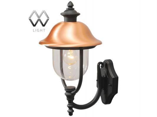 Уличный настенный светильник MW-Light Дубай 805020101 светильник на штанге mw light дубай 805020101