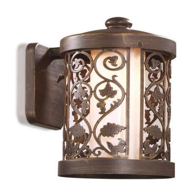 Уличный настенный светильник Odeon Kordi 2286/1W настенный уличный светильник odeon 2312 lumi 2312 1w