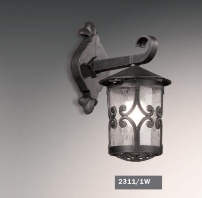 Уличный настенный светильник Odeon Bukle 2311/1W настенный уличный светильник odeon 2312 lumi 2312 1w