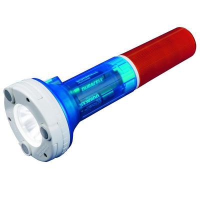 Автомобильный светодиодный фонарь Uniel (05143) от батареек 220х81,5 80 лм P-AT031-BB Amber-Blue
