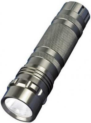 Ручной светодиодный фонарь Uniel (05623) от батареек 60 лм S-LD023-C Silver ручной светодиодный фонарь uniel 03252 от батареек 125х30 100 лм s ld016 c silver