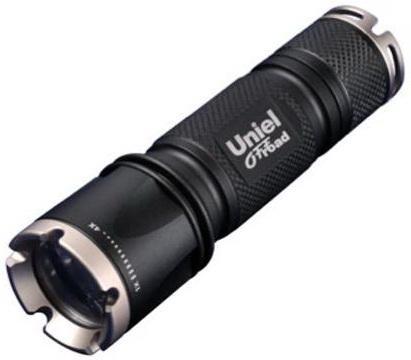 Ручной светодиодный фонарь Uniel (05723) от батареек 185 лм P-ML072-BB Black