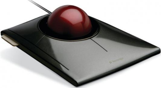 Мышь проводная Kensington SlimBlade чёрный USB K72327EU