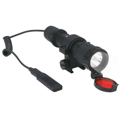 Тактический светодиодный фонарь Uniel (06595) от батареек 130х32 250 лм P-GL011-BB Black