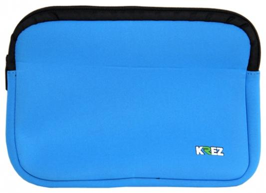 Чехол для ноутбука 10.2 KREZ L10-401L неопрен голубой чехол krez для планшетов 10 1 черный l10 701bm