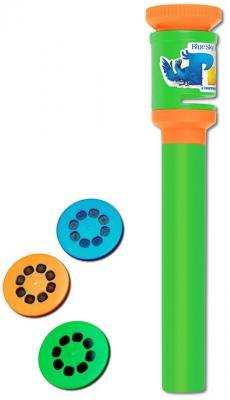Детский светодиодный фонарь Uniel (09053) от батареек 187х35 R-PL702-B RIO1-53 GREEN