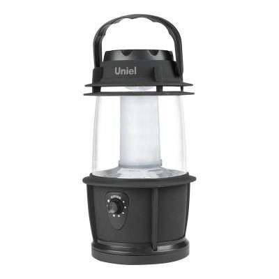 Кемпинговый светодиодный фонарь Uniel (08326) от батареек 230х200 69 лм S-TL014-B Black