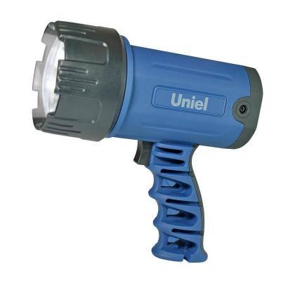 Фонарь-прожектор светодиодный Uniel (03488) аккумуляторный 150 лм S-SL010-BA Blue uniel фонарь прожектор светодиодный uniel 06030 аккумуляторный 150 лм s sl016 bb blue