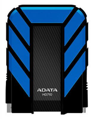 "Внешний жесткий диск 2.5"" USB3.0 2 Tb A-Data AHD710-2TU3-CBL синий"
