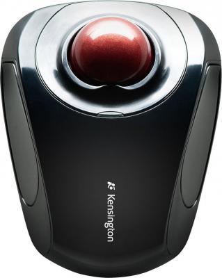 Мышь беспроводная Kensington Orbit Wireless Mobile K72352EU чёрный USB + радиоканал мышь kensington orbit optical trackball 64327eu