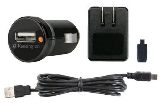 Автомобильное зарядное устройство Kensington K38057EU USB черный автомобильное зарядное устройство kensington k38057eu miniusb черный