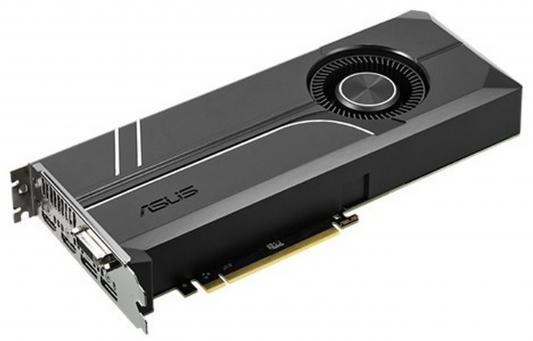 Видеокарта 8192Mb ASUS GeForce GTX1070 PCI-E 256bit GDDR5X DVI HDMI DP HDCP TURBO-GTX1070-8G Retail