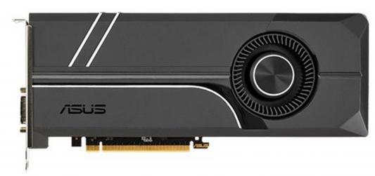 Видеокарта 8192Mb ASUS GeForce GTX1070 PCI-E 256bit GDDR5 DVI HDMI DP HDCP TURBO-GTX1070-8G Retail видеокарта asus nvidia geforce gt 710 gt710 sl 2gd5 2гб gddr5 low profile ret