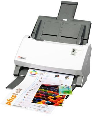 все цены на Сканер Plustek SmartOffice PS456U протяжный А4 600x600 dpi CCD 80ppm USB 0241TS онлайн
