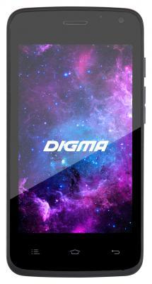 "Смартфон Digma А400 графитовый 4"" 4 Гб 3G Wi-Fi 794884"