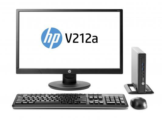 Системный блок HP 260 G1 Mini Pentium 3558U 4Gb 500Gb Win7 Win10 клавиатура мышь + HP Monitor v212 + Quick Release X9D44ES
