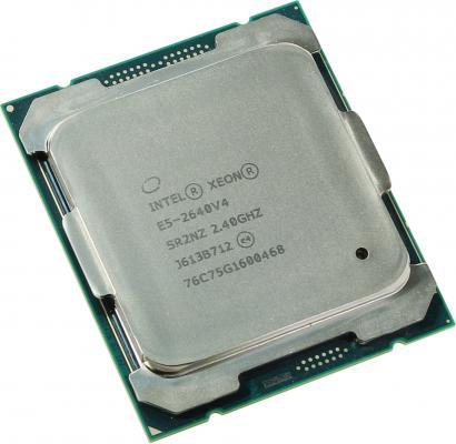 Процессор Dell Intel Xeon E5-2640v4 2.4GHz 25M 10C 90W 338-BJDLt цена и фото
