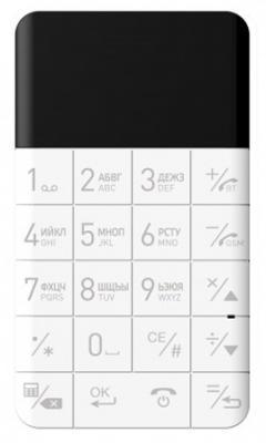 """Мобильный телефон Elari CardPhone белый 1.1"""""""