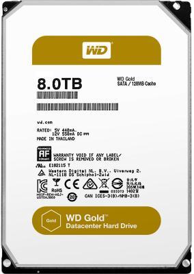 "Жесткий диск 3.5"" 8Tb 7200rpm Western Digital SATAIII WD8002FRYZ"