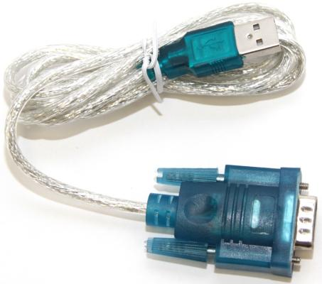 Кабель-переходник USB 2.0 AM-RS232 1.2м 5bites UA-AMDB9-012 переходник 5bites usb bm hdmi f ua hhfm mhl