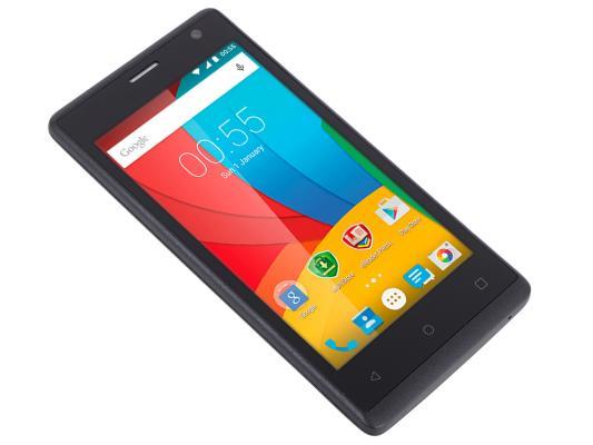 "Смартфон Prestigio Wize O3 черный 4.5"" 4 Гб Wi-Fi GPS 3G PSP3458DUOBLACK"
