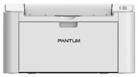 Принтер Pantum P2200 ч/б A4 20ppm 1200x1200dpi USB серый картридж pantum pc 211ev черный black 1600 стр для pantum p2200 2207 2500 m6500 6550 6600