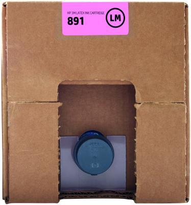 Картридж HP 891 G0Y77A для Latex 3100/3500 светло-пурпурный картридж hp cn674a для latex 610 светло голубой 3л