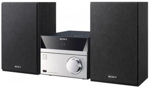 Микросистема Sony CMT-SBT20 серебристый цены