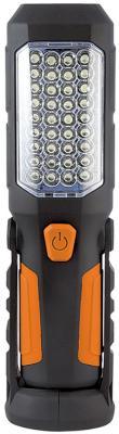 Фонарь Яркий луч Оптимус универсальный черный/оранжевый 4606400615071 ручной фонарь яркий луч t65 escort черный