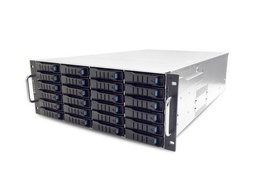 Серверный корпус 4U AIC SB402-LB 1200 Вт чёрный