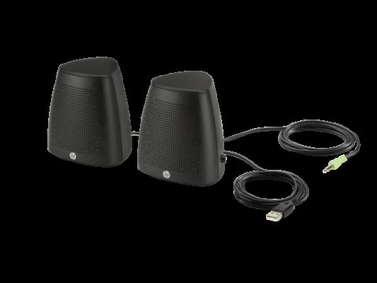 Колонки HP S3100 Speaker USB черный V3Y47AA