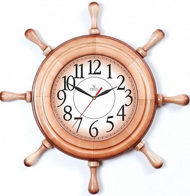 Часы Вега Штурвал Арабская классика коричневый Д 7 НД 1 vega tymq1100