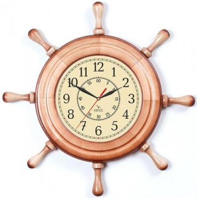 Часы настенные Вега Д 7 НД 2 бежевый купить часы мальчику 7 лет