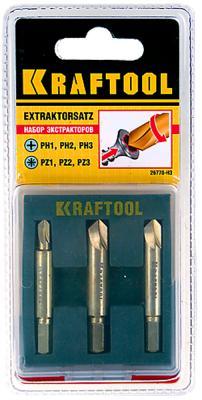 Набор экстракторов Kraftool INDUSTRIE 3шт 26770-H3 набор экстракторов fit 36437