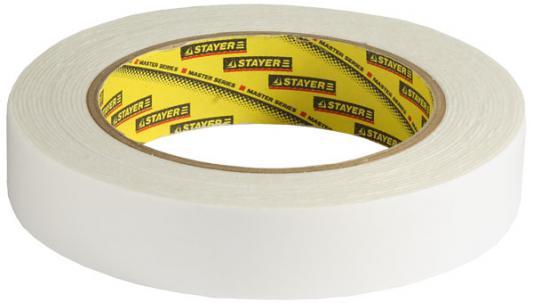 Лента Stayer PROFI клейкая на вспененной основе 25ммх5м 12231-25-05 лента клейкая stayer profi 1217 25