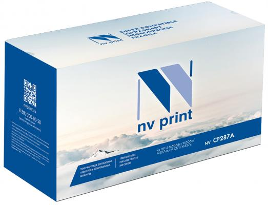 Картридж NV-Print CF287X для HP LJ M506dn/M506x/M527dn/M527f/M527c черный 18000стр картридж для принтера nv print для hp cf403x magenta