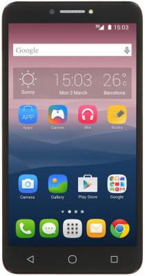 "Смартфон Alcatel PIXI4 черный 6"" 16 Гб GPS Wi-Fi 9001D PIXI 4"