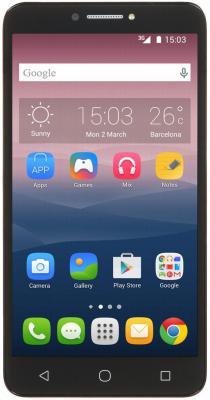 Смартфон Alcatel PIXI4 16 Гб черный (9001DVOLCANO/BLACK)