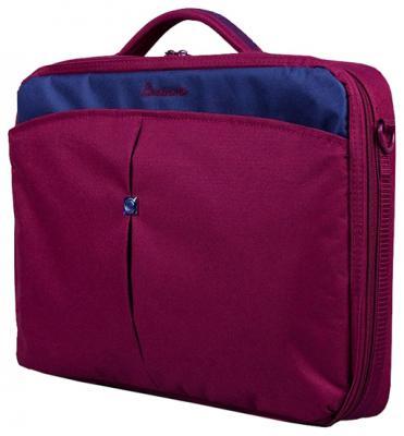 """Сумка для ноутбука 15.6"""" Continent CC-02 нейлон фиолетовый"""