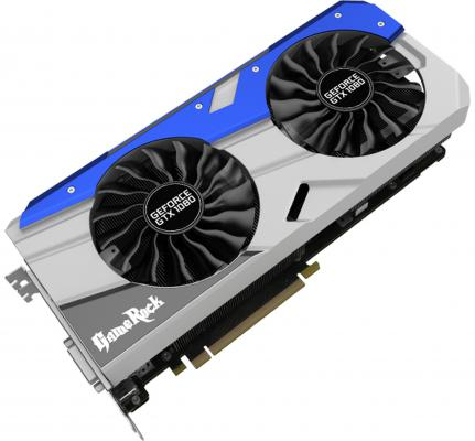 ���������� 8192Mb Palit GeForce GTX1080 GameRock PCI-E 256bit GDDR5X DVI HDMI DP NEB1080T15P2-1040G GameRock 8G + G-Panel Retail