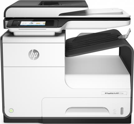 МФУ HP PageWide Pro MFP 477dw D3Q20B цветное A4 40ppm 1200x1200dpi Ethernet Wi-Fi USB герои и злодеи