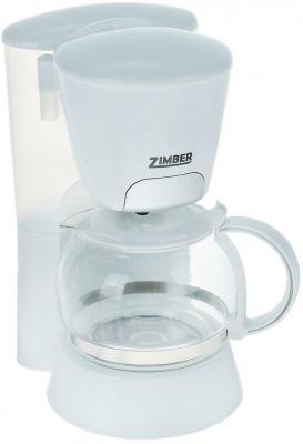 Кофеварка Zimber ZM-10686 белый