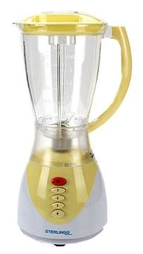 Блендер стационарный Zimber 11102-ZM 400Вт жёлтый
