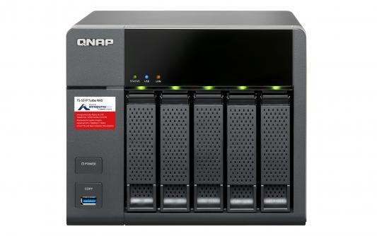 Сетевое хранилище QNAP TS-531P-2G
