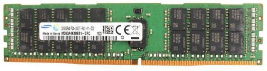 Оперативная память 32Gb PC4-19200 2400MHz DDR4 DIMM Samsung оперативная память kvr400x64c3a 256