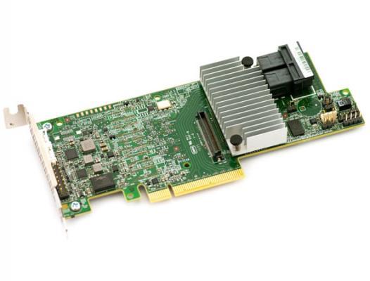Контроллер LSI SAS 9361-8I SGL LSI00462 адаптер lsi oce14102 nx