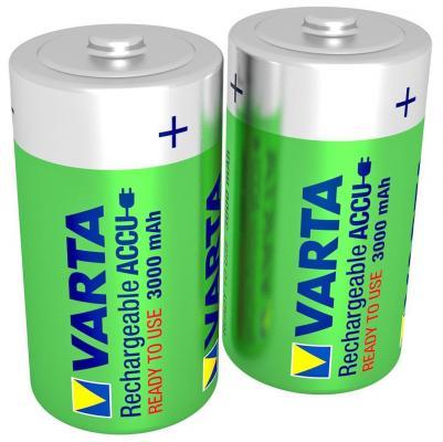 Батарейки Varta R2U 3000 mAh D 2 шт аккумулятор d robiton d hr20 3000 mah rtu3000mhd sr2 14222 2 штуки